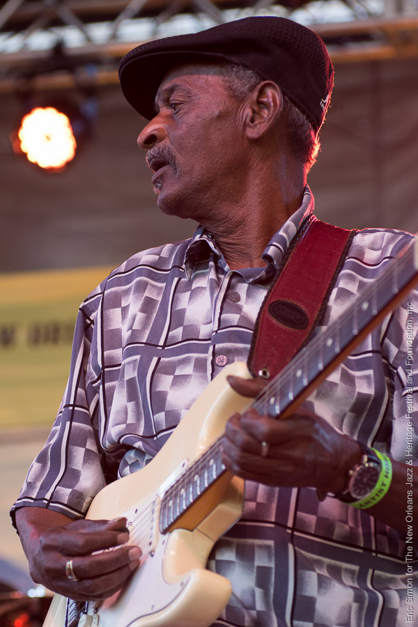 2015 Crescent City Blues and BBQ Festival, Lil' Buck Senegal, Music, New Orleans