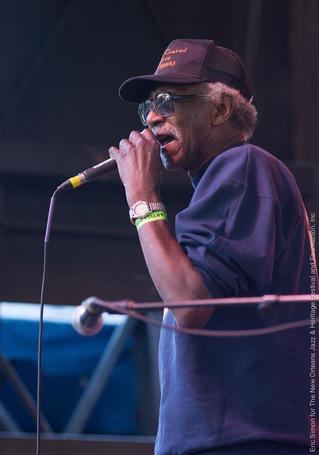 2015 Crescent City Blues and BBQ Festival, Lazy Lester, Music, New Orleans