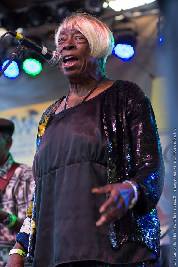 2015 Crescent City Blues and BBQ Festival, Carol Fran, Music, New Orleans