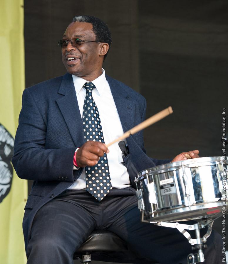 2015 Treme Creole Gumbo Festival, Fairview Baptist Church Brass Band, Herlin Riley