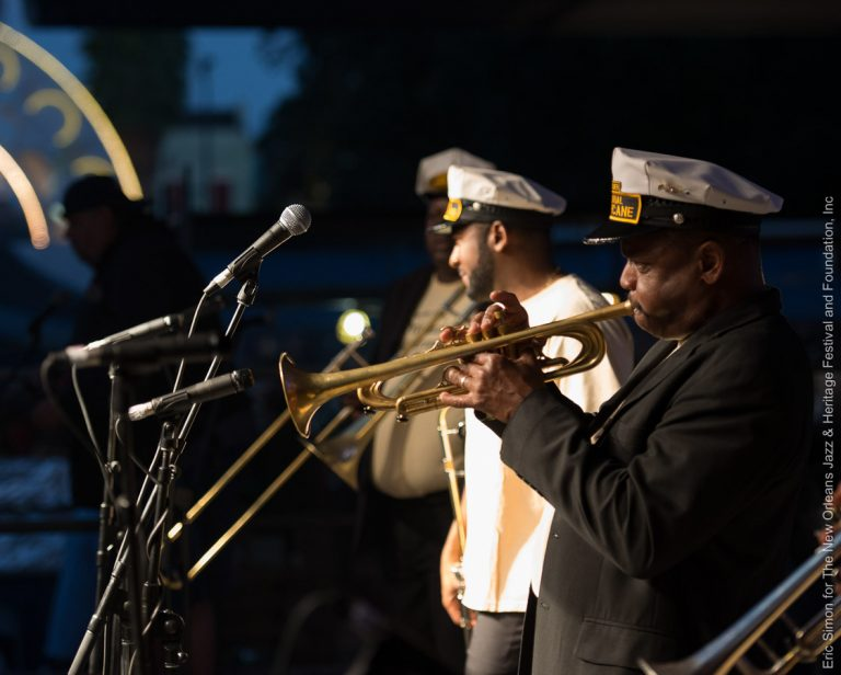 2015 Treme Creole Gumbo Festival, Leroy Jones' Original Hurricane Brass Band