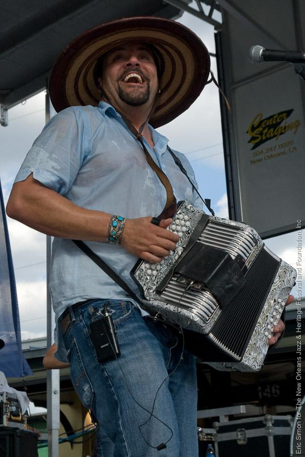 2009 Louisiana Cajun Zydeco Festival, Music, New Orleans, Terrance Simien & the Zydeco Experience