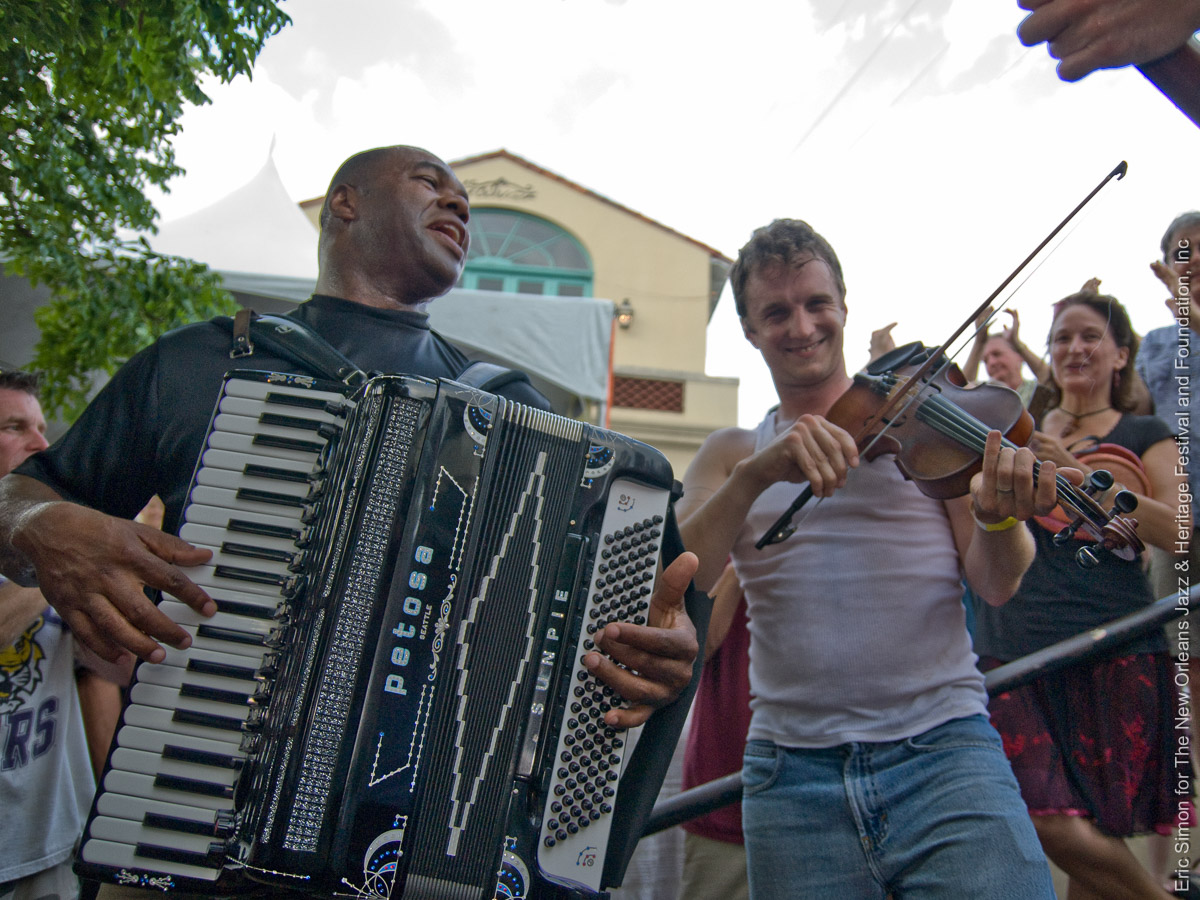 2009 Louisiana Cajun Zydeco Festival, Lost Bayou Ramblers, Music, New Orleans