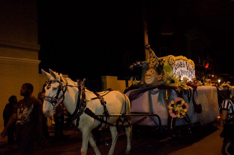 Krewe du Vieux Parade, Mardi Gras, New Orleans, 2012