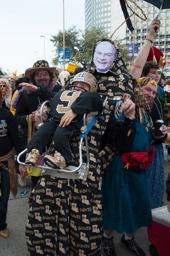 2010 New Orleans, Buddy D Saints Parade