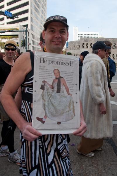 New Orleans Saints, Buddy D Parade