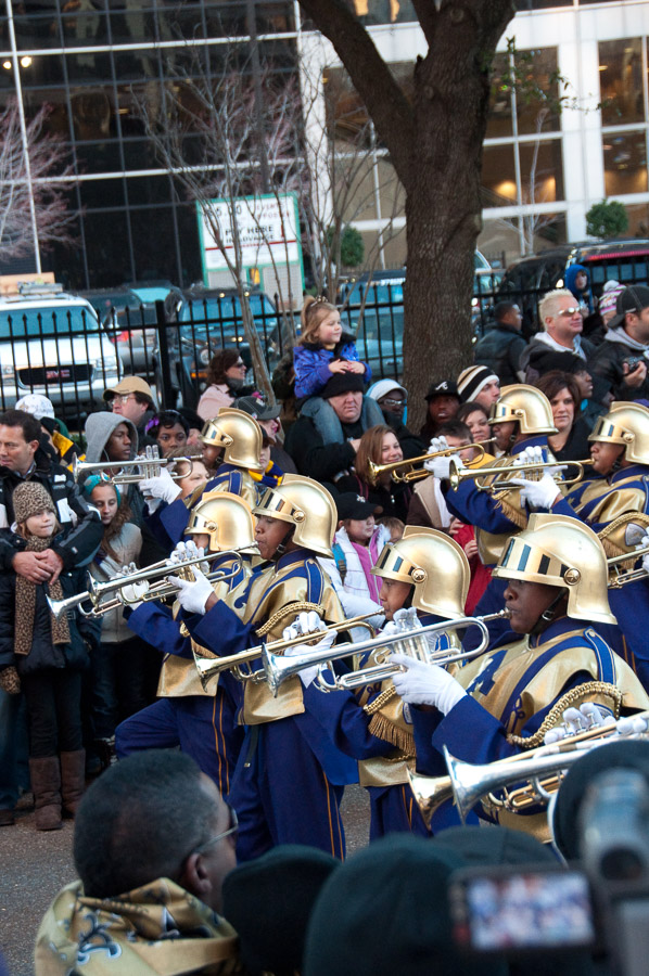 Dat Tuesday, New Orleans, Saints Parade, St. Augustine Marching 100, Super Bowl