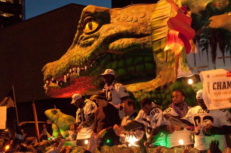 Dat Tuesday, New Orleans, Saints Parade, Super Bowl