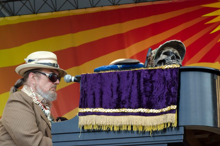 Acura Stage, Dr. John, New Orleans Jazz Fest 2011