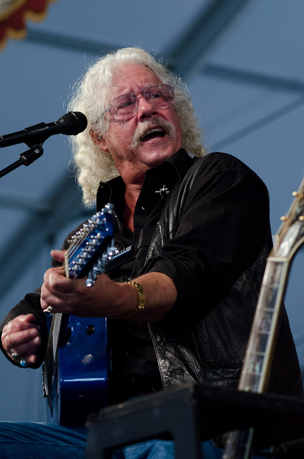 Arlo Guthrie, Blues Tent, New Orleans Jazz Fest 2011