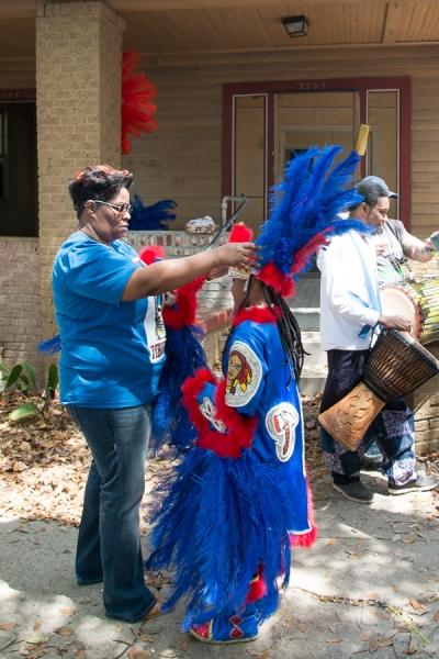 Mardi Gras Inidans 2014, New Orleans