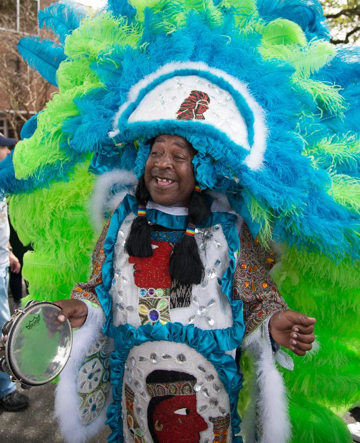 2014 Super Sunday, Mardi Gras Indians