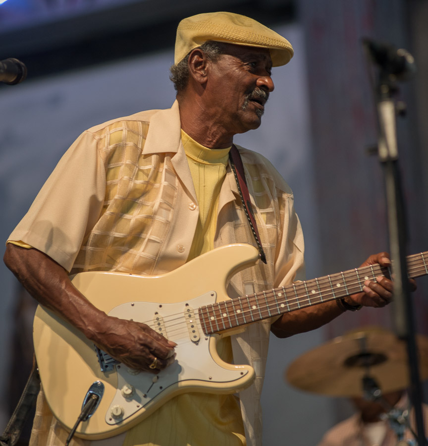2014 New Orleans Jazz and Heritage Festival, Jazz Fest, Lil' Buck Sinegal, Music