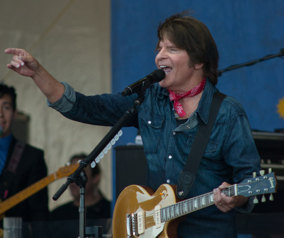 2014 New Orleans Jazz and Heritage Festival, Jazz Fest, John Fogerty, Music