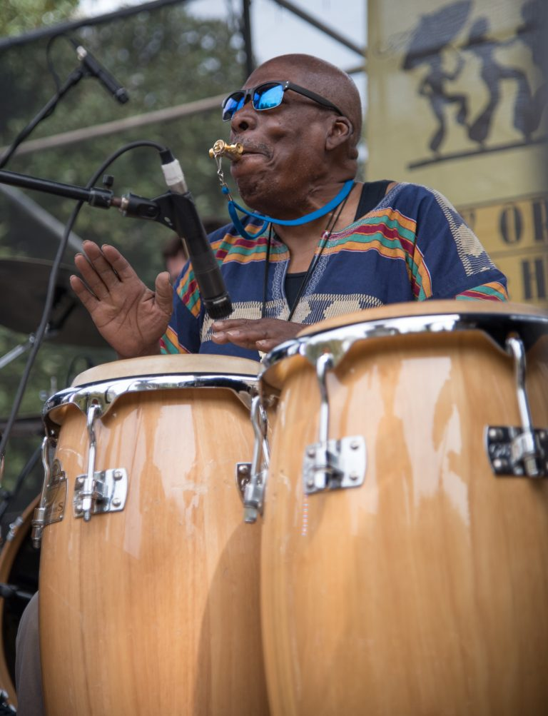 2015 Congo Square Rhythms Festival, New Orleans, music, Big Chief Smiley Ricks