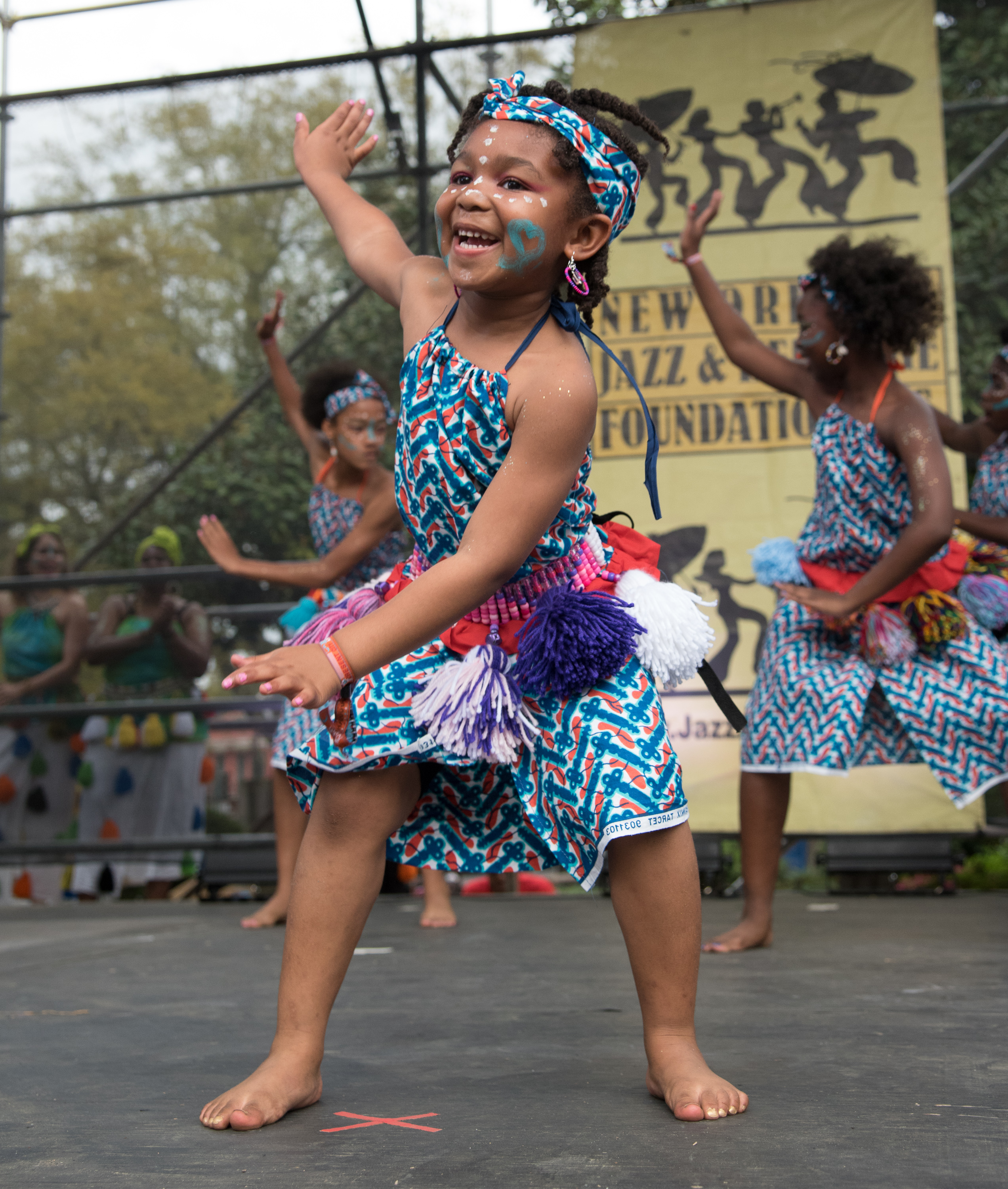 2015 Congo Square Rhythms Festival, New Orleans, music, N'Fungola Sibo Dance Theater