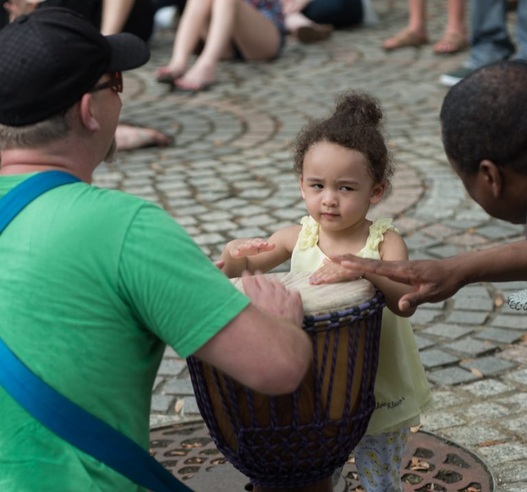 2015 Congo Square Rhythms Festival, New Orleans, music, African Drumming & Dance Circle