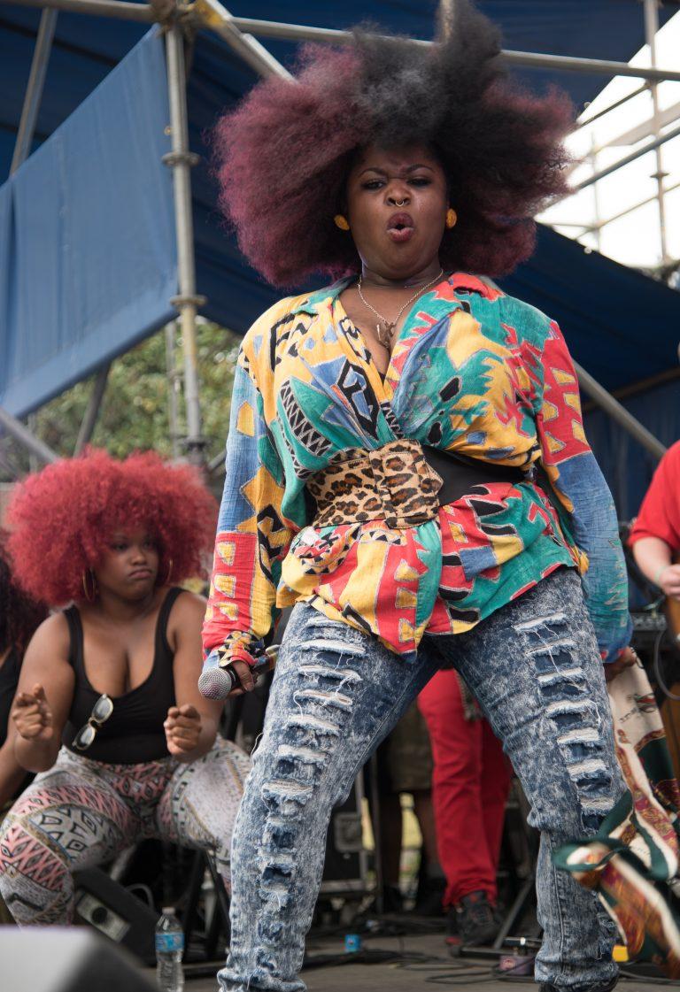2015 Congo Square Rhythms Festival, New Orleans, music, Tank & da Bangas