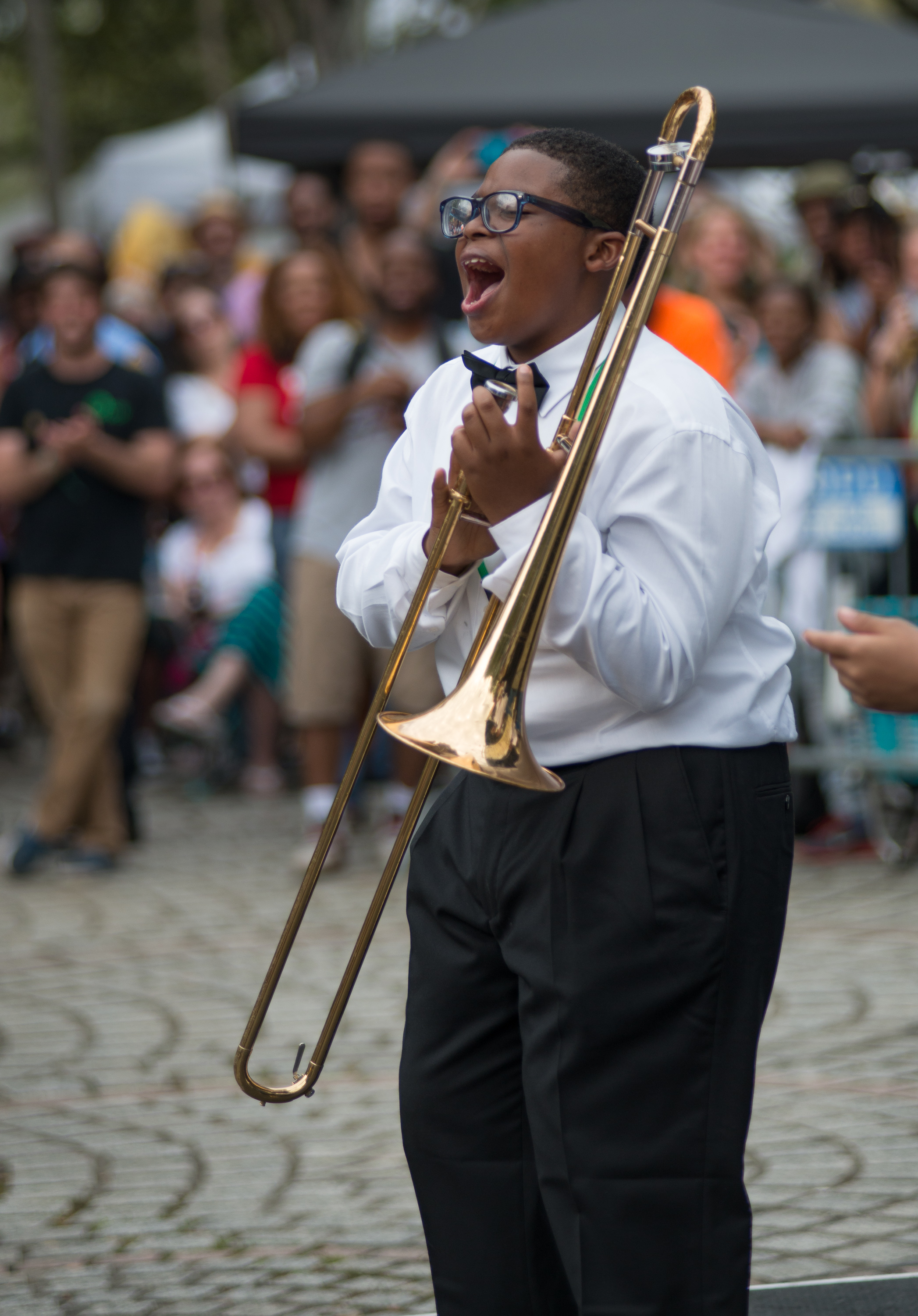 2015 Congo Square Rhythms Festival, New Orleans, music, Medard H Nelson Charter School