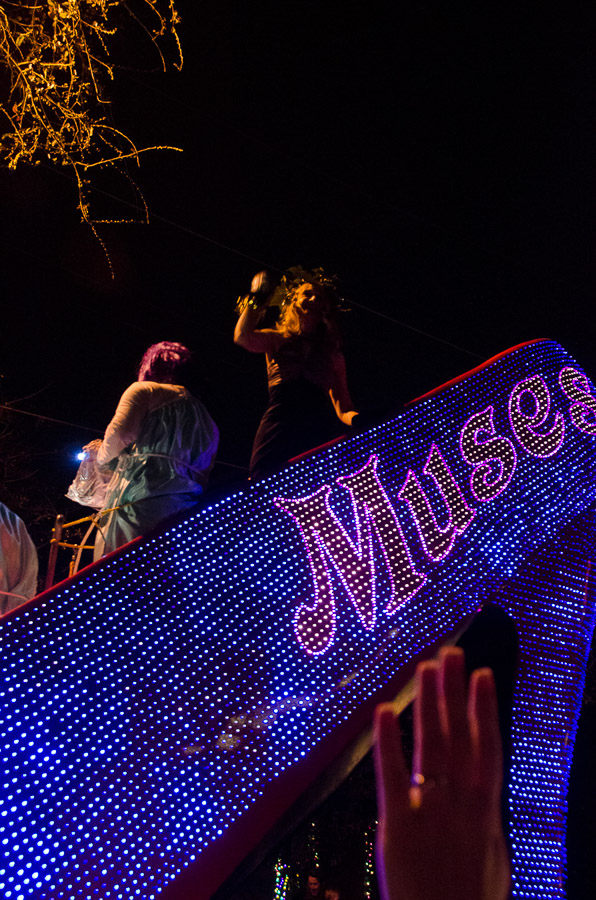 Mardi Gras, Muses Parade, New Orleans, 2012