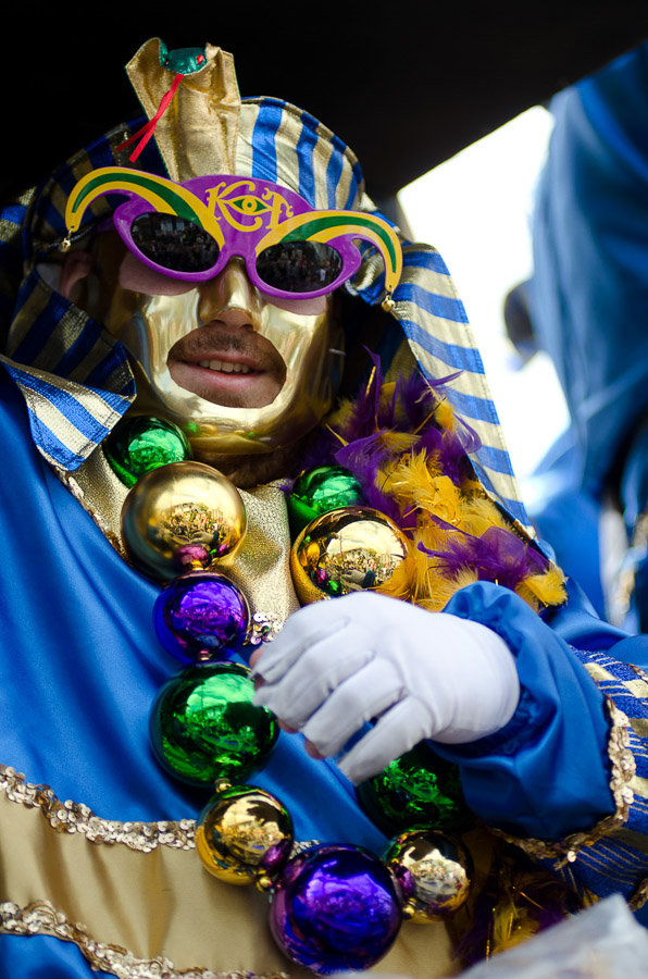 New Orleans Mardi Gras, Thoth Parade, 2012