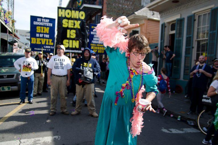 Jesus, New Orleans Mardi Gras, 2012