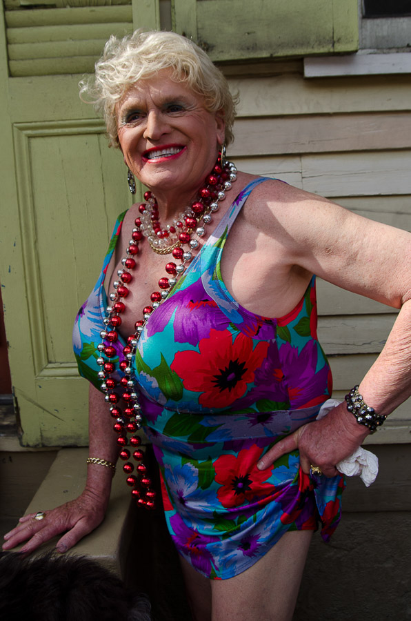Lorraine, New Orleans Mardi Gras, 2012
