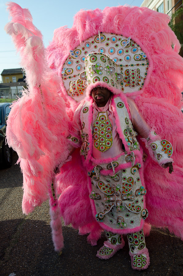 Mardi Gras Indian, New Orleans Mardi Gras, 2012