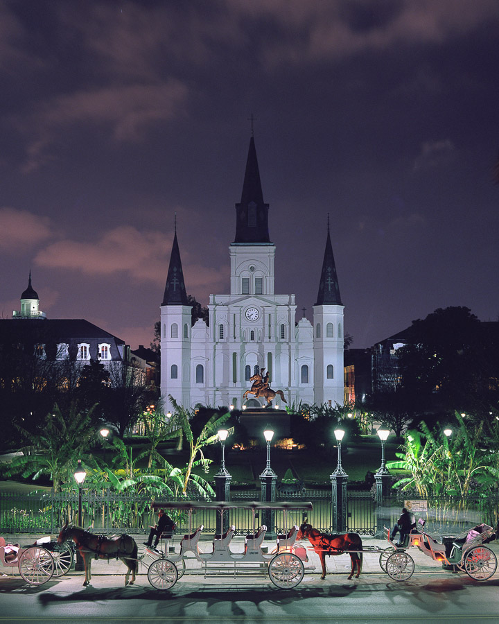 Jackson Square, New Orleans, St. Louis Cathedrela