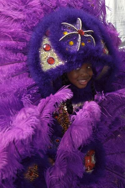 Mardi Gras Inidans 2001, New Orleans