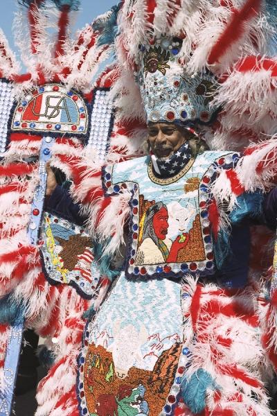 Mardi Gras Inidans 2003, New Orleans