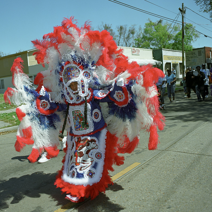 2005 Super Sunday, Mardi Gras Indians, New Orleans