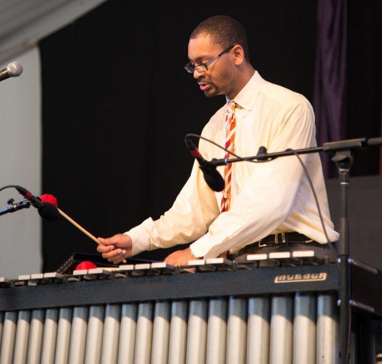 Jason Marsalis, New Orleans Jazz Fest, 2013 New Orleans Jazz and Heritage Festival