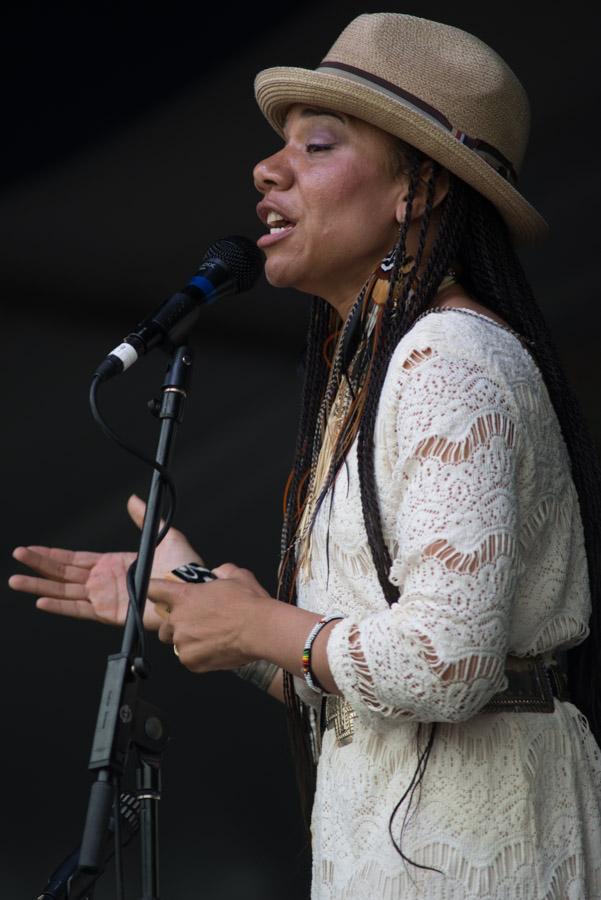 Martha Redbone, New Orleans Jazz Fest, 2013 New Orleans Jazz and Heritage Festival