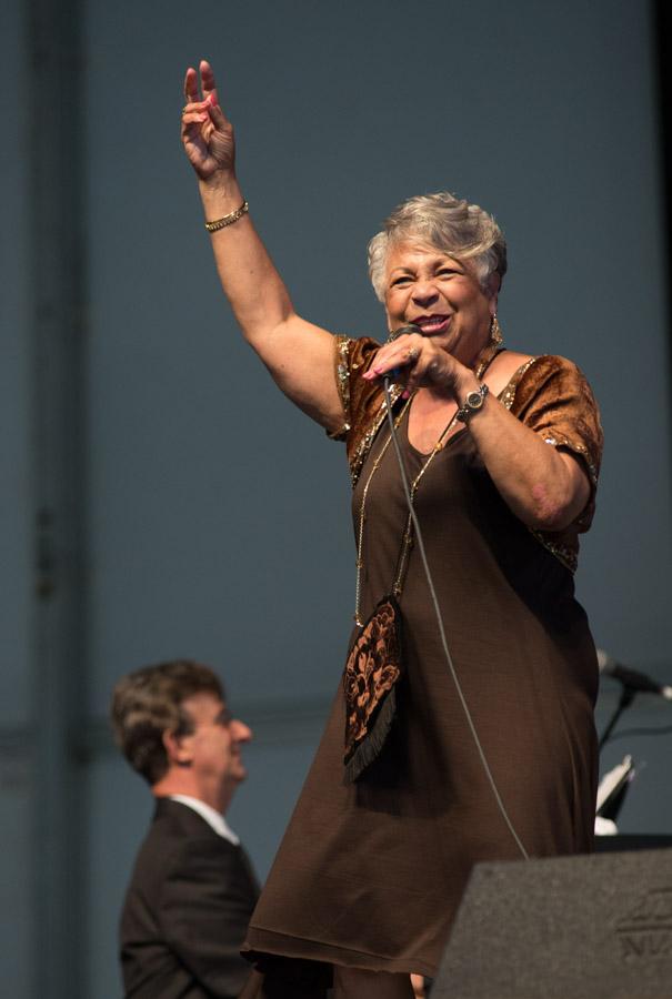 2013 New Orleans Jazz and Heritage Festival, Jazz Fest, Wanda Rouzan