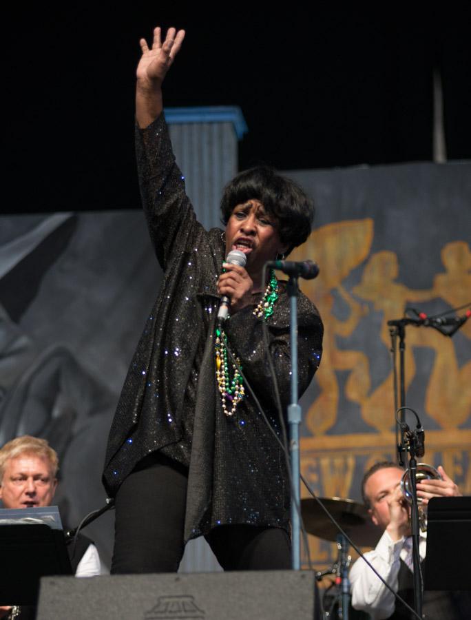 2013 New Orleans Jazz and Heritage Festival, Jazz Fest, Thais Clark
