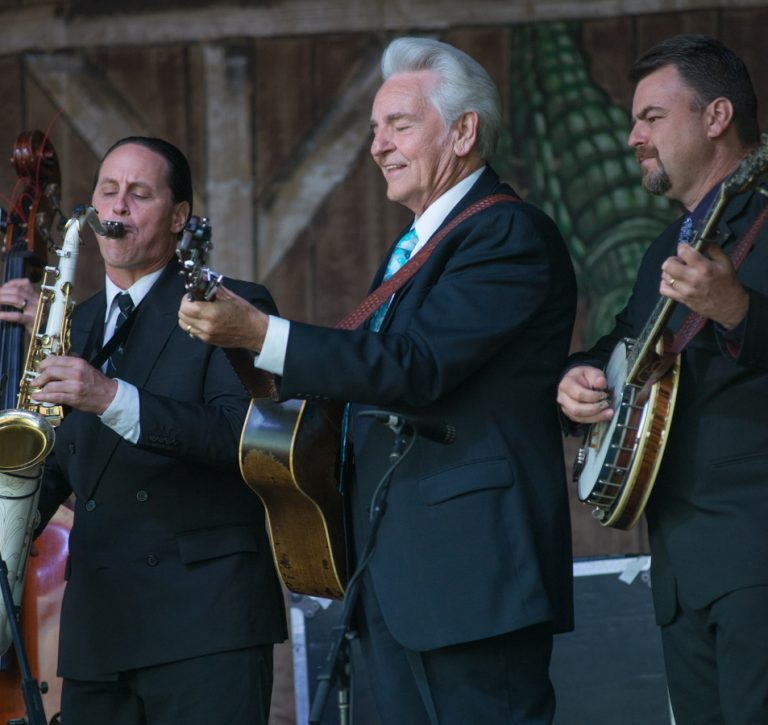 Del McCoury Band and Preservation Hall Jazz Band, New Orleans Jazz Fest, 2013 New Orleans Jazz and Heritage Festival