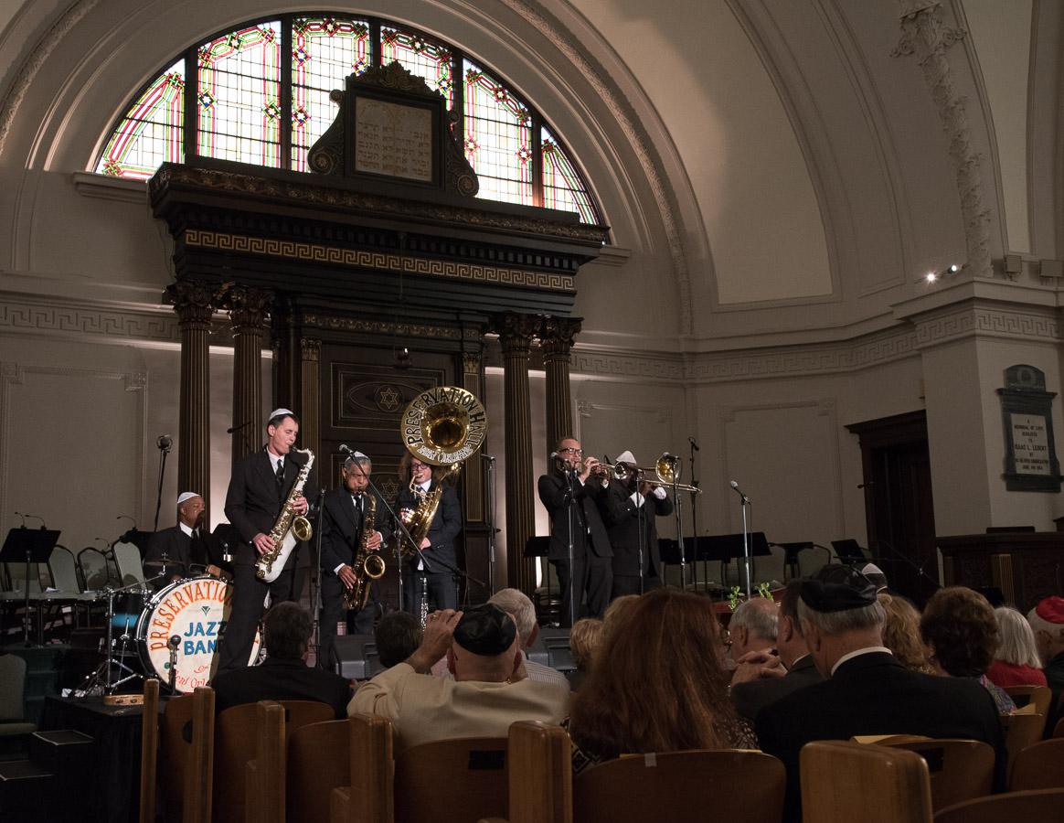 Jazz Fest 2015, Jazz Fest Shabbat, New Orleans Jazz and Heritage Festival, Touro Synagogue Preservation Hall Jazz Band