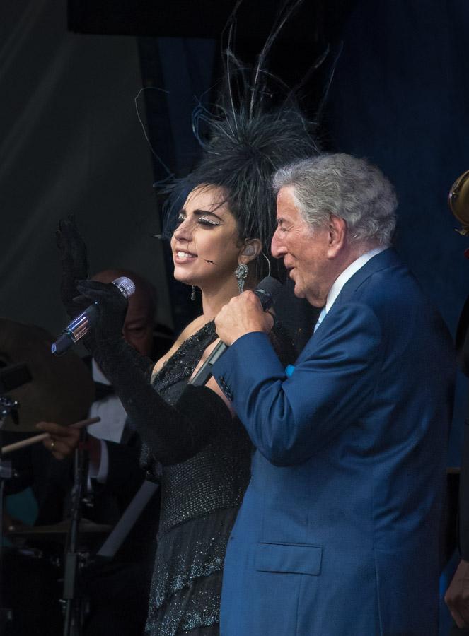 Jazz Fest, Jazz Fest 2015, New Orleans Jazz and Heritage Festival, Tony Bennett and Lady Gaga