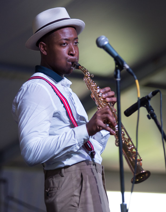 Calvin Johnson's Tribute to Buddy Bolden, Jazz Fest 2015, New Orleans Jazz and Heritage Festival