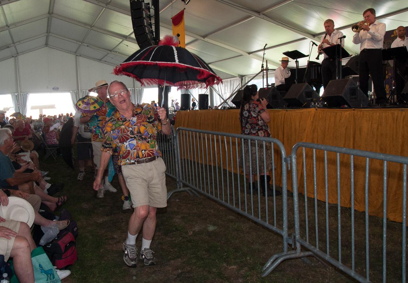 Butch Thompson, Eddie, New Orleans Jazz Fest, Second Line