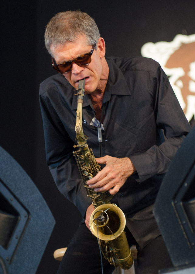 2012  Jazz Fest, David Sanborn and Joey DeFrancesco, New Olreans Jazz and Heritage Festival
