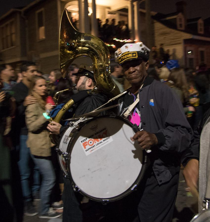 2015 Krewe du Vieux, Mardi Gras